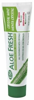 Зубная паста- гель Aloe Fresh Crystal Mint (с кристаллами мяты) 100мл