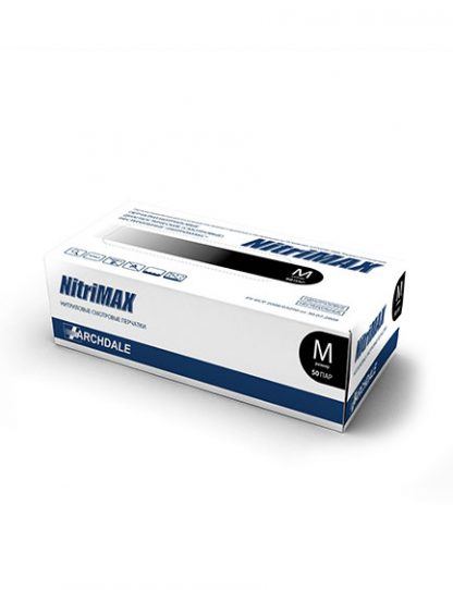 Перчатки чёрные NitriMAX