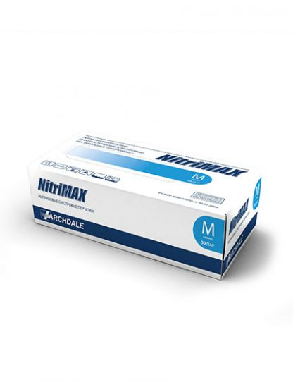 Перчатки голубые NitriMAX