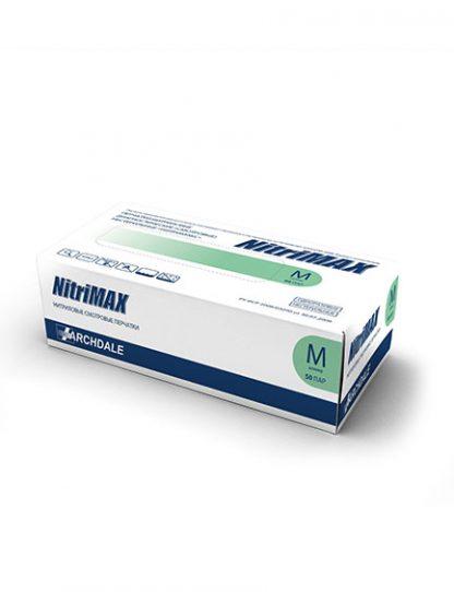 Перчатки нитриловые зелёные NitriMAX