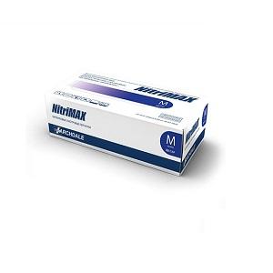 Перчатки нитриловые диагностические нестерильные фиолетовые NitriMAX