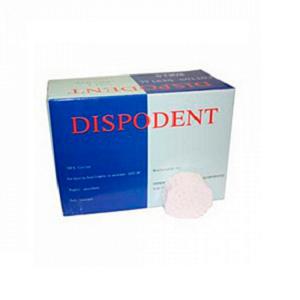 Валики ватные, стоматологические №2, 2000шт в упаковке (Dispodent)
