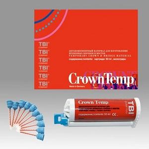 CrownTemp - материал для изготовления временных коронок и мостов, картридж 50 мл