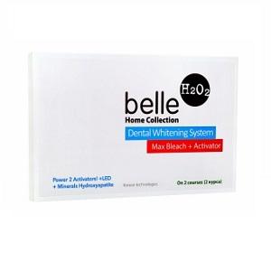 Набор для домашнего отбеливания зубов Belle Home Collection 6% с двумя активаторами, на 2 курса