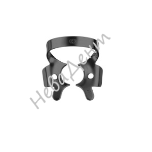 Кламп для моляров №4-В с чёрным покрытием (Dentech, Япония)