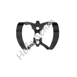 """Кламп коффердам """"бабочка"""" для фронтальной группы зубов №6-В с черным покрытием (Dentech, Япония)"""
