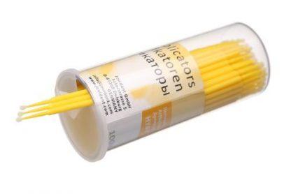 микроаппликаторы регуляр, жёлтые