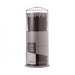 Микроаппликаторы стоматологические для каналов черные конические, размер Conic, 100 шт.