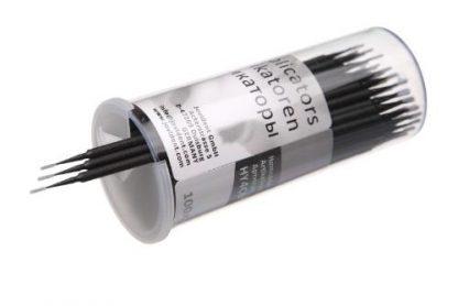 Микроаппликаторы стоматологические для каналов черные конические, размер Conic