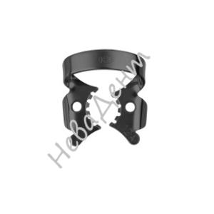 Кламп для моляров №12А-В с черным покрытием (Dentech, Япония)