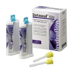 Detaseal hydroflow Xlite fast set , корригирующий материал, стандартная упаковка 2х50мл