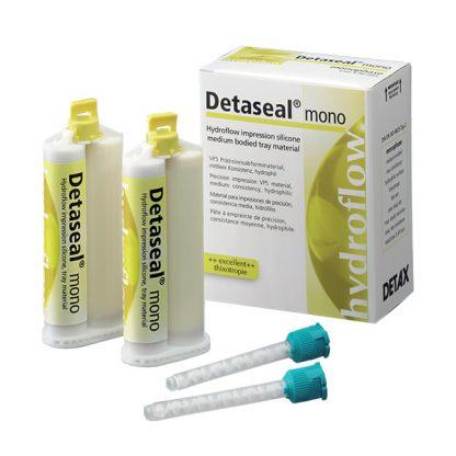 Detaseal hydroflow mono силикон для оттисков, 2х50 мл
