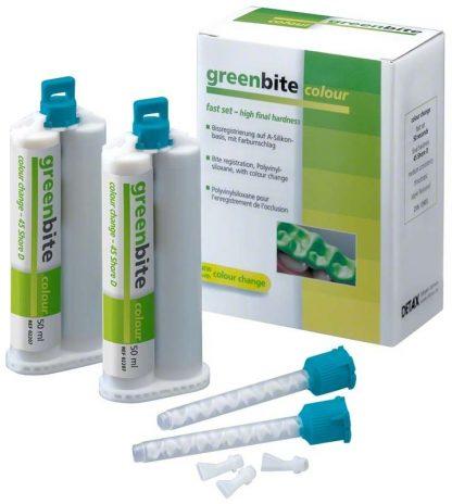 Материал для регистрации прикуса Greenbite colour 2x50ml