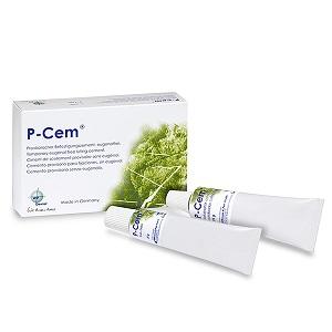 Цемент P-CEM для временной фиксации коронок в тубах