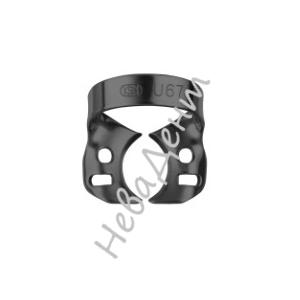 Кламп для моляров №U67-B с черным покрытием (Dentech, Япония)