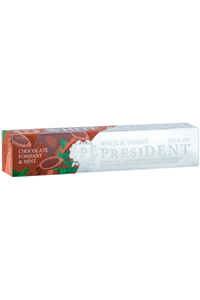 PRESIDENT White & Yummy зубная паста