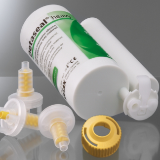 Detaseal hydroflow heavy 5:1, слепочный материал, джамбо-упаковка (база 300 мл, катализатор 60 мл)