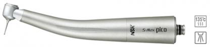 S-Max pico - турбинный наконечник с ультра-миниатюрной головкой, с оптикой, одинарным спреем и керамическими подшипниками, подключение к переходникам NSK