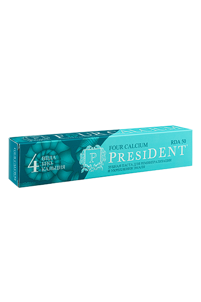 PRESIDENT FOUR CALCIUM зубная паста