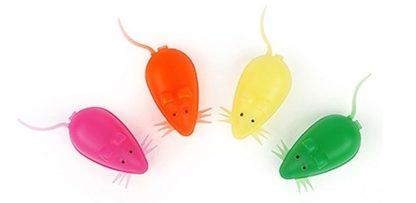 Пластиковый футляр-контейнер в форме мышки для молочных зубов