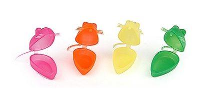 футляр-контейнер в форме мышки для молочных зубов