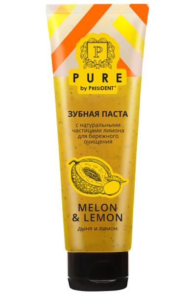 зубная паста лимон и дыня